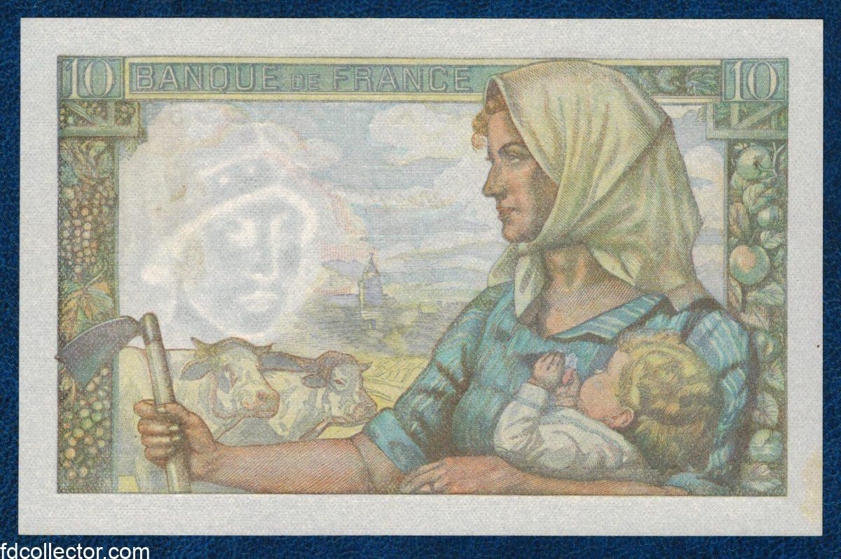 10 FRANCS MINEUR 30-10-1947 53069 VS