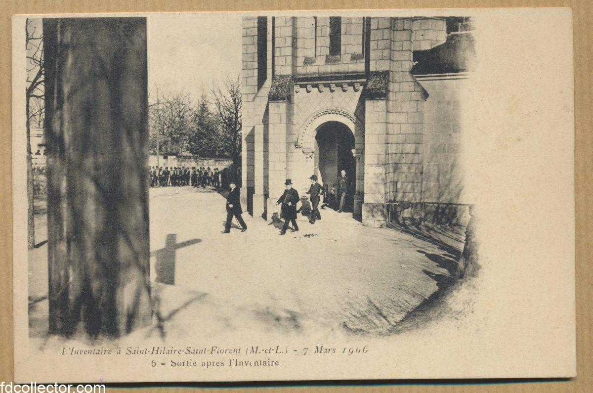 CPA ST HILAIRE ST FLORENT L INVENTAIRE 1906