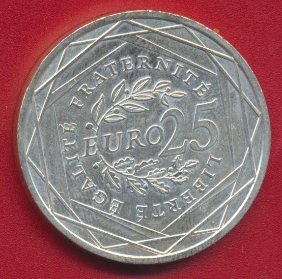 25 EURO 2009