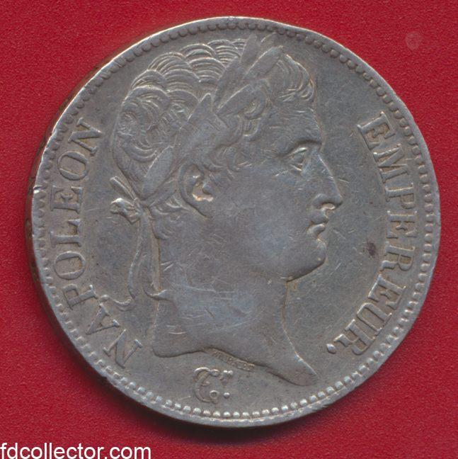 5 FRANCS NAPOLEON 1° 1810 L BAYONNE
