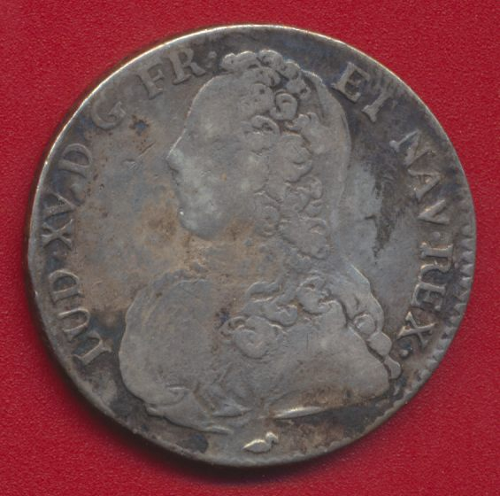 LOUIS XV DEMI ECU 1729 - BOURGES