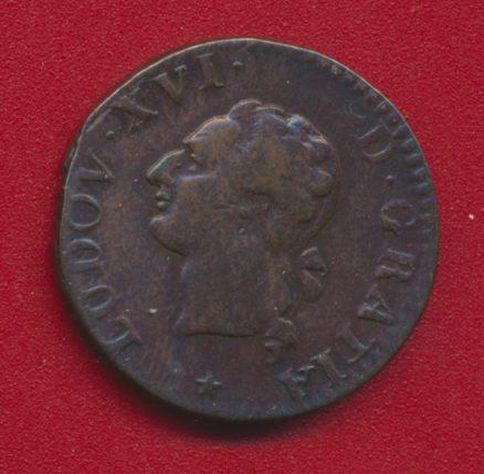 LOUIS XVI LIARD 1788 W