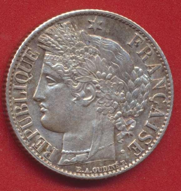 1 franc ceres 1871 a