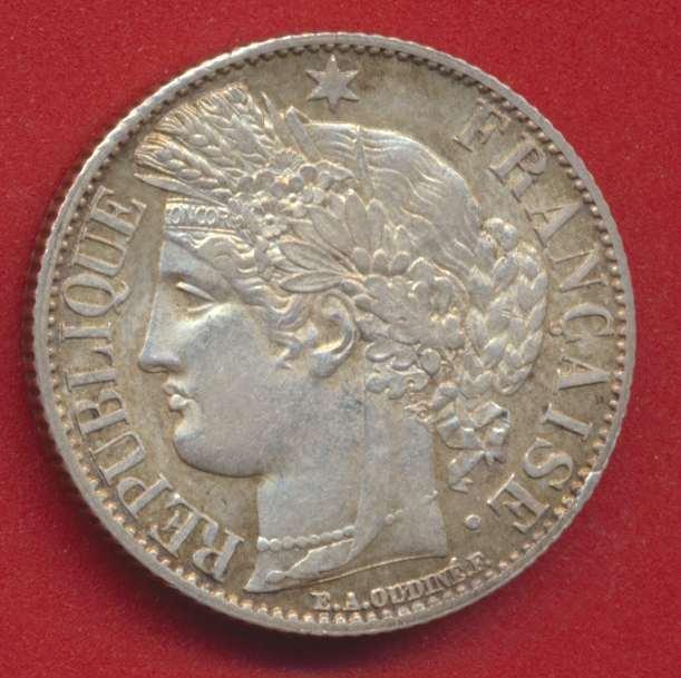 1 franc ceres 1872 k