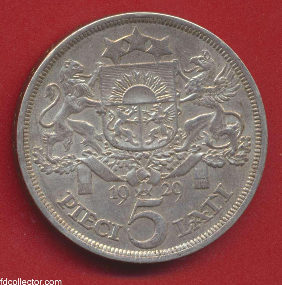 5 lati 1929 lettonie