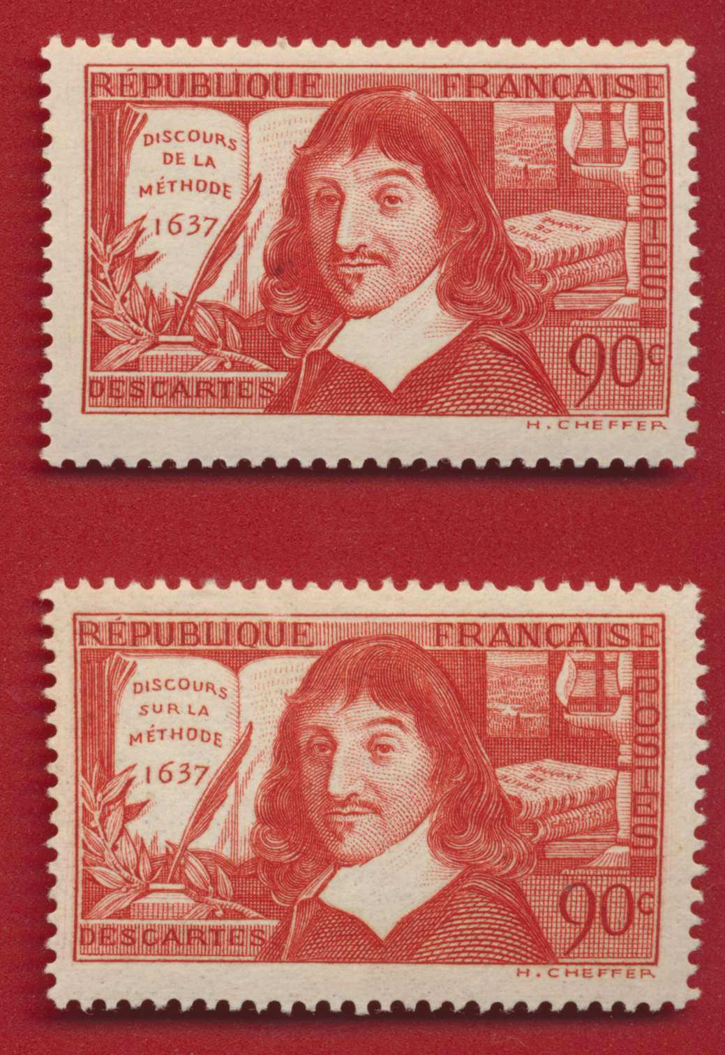 LOT DESCARTES SUR et DE