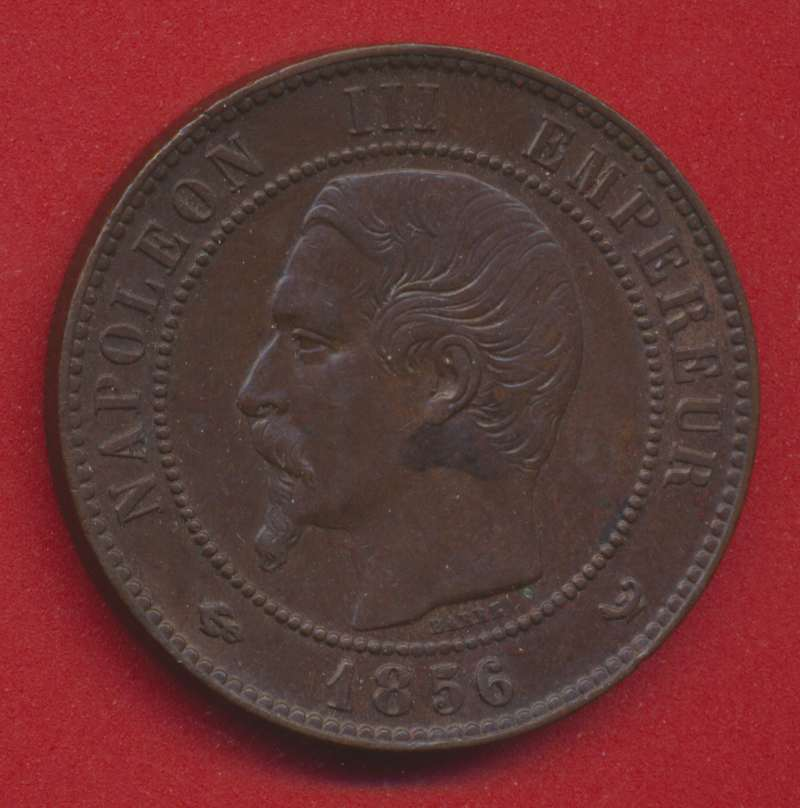 Napoleon III 10 centimes 1856 W lille