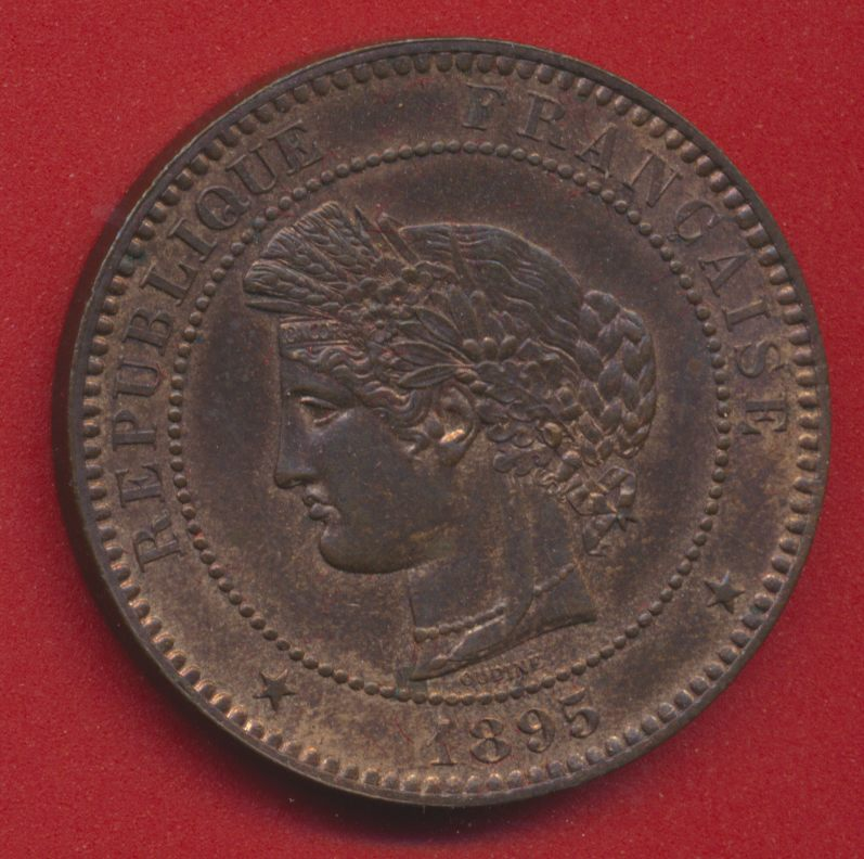 10 centimes ceres 1895