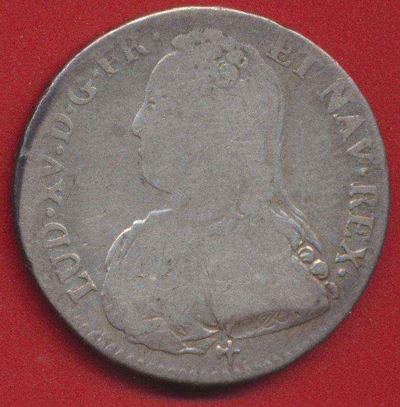 Louis XV demi ecu 1729 R orleans