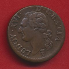 louis XVI demi sol a l ecu 1791 k bordeaux