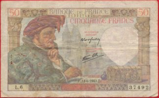 50-francs-jacques-coeur-13-6-1940-7942
