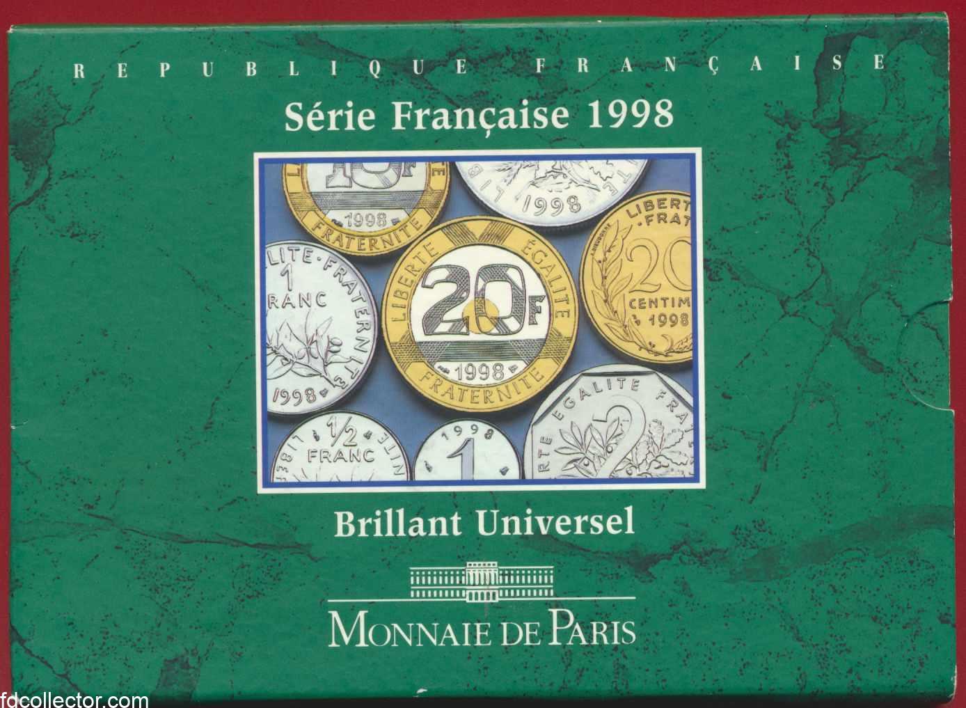 Coffret brillant universel 1998