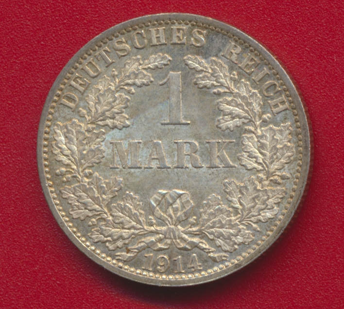 allemagne 1 mark 1914 f avers
