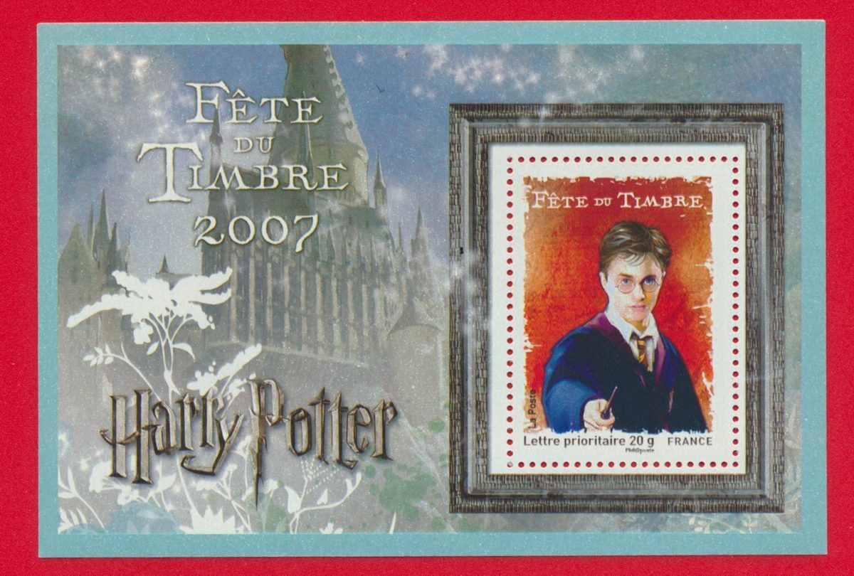 bloc harry potter lettre prioritaire 20 g