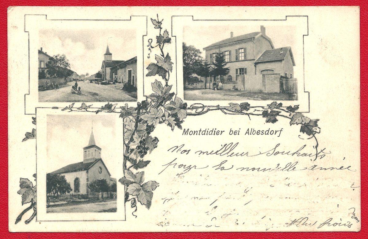 CPA Montdidier bei Albesdorf