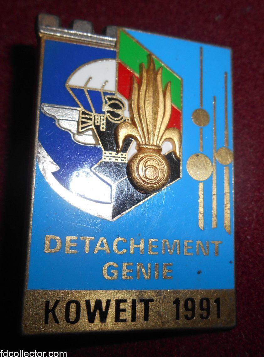 detachement 6 régiment étranger légion étrangère koweil 1991