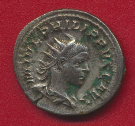 Philippe II Philip II as Caesar, AR Antoninianus, 244-246, Rome