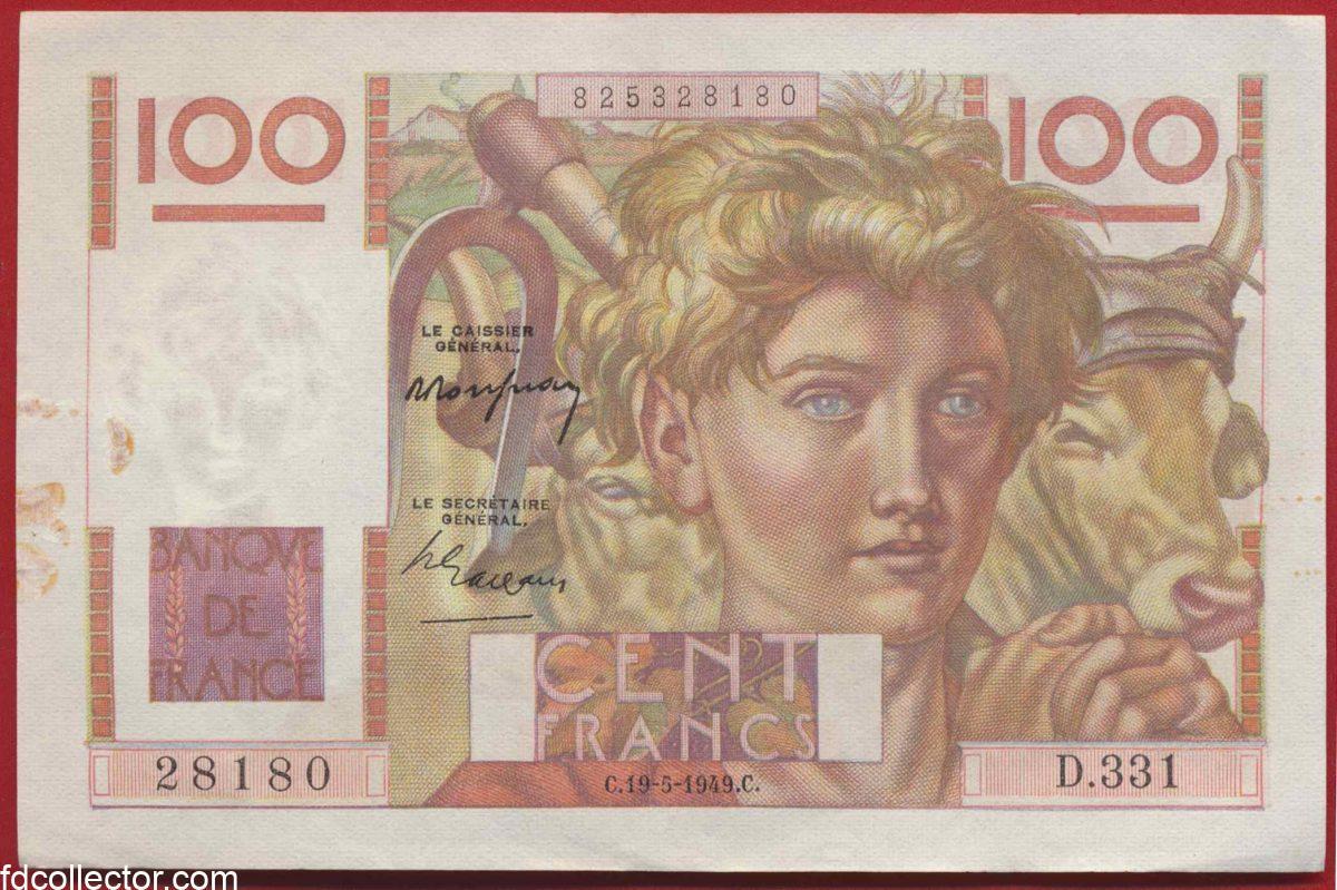 100-francs-jeune-paysan-19-5-1949-28180