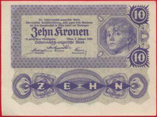 autriche-10-kronen-1922-4350