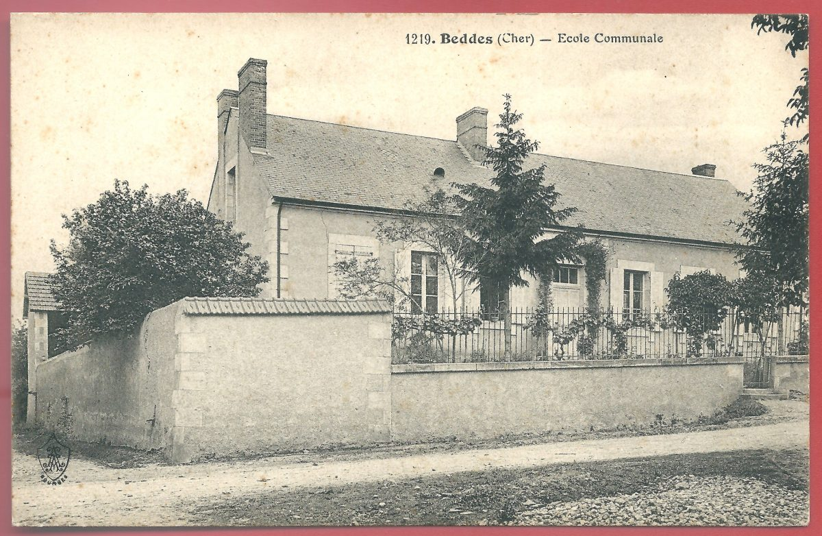 cpa-beddes-ecole-communale