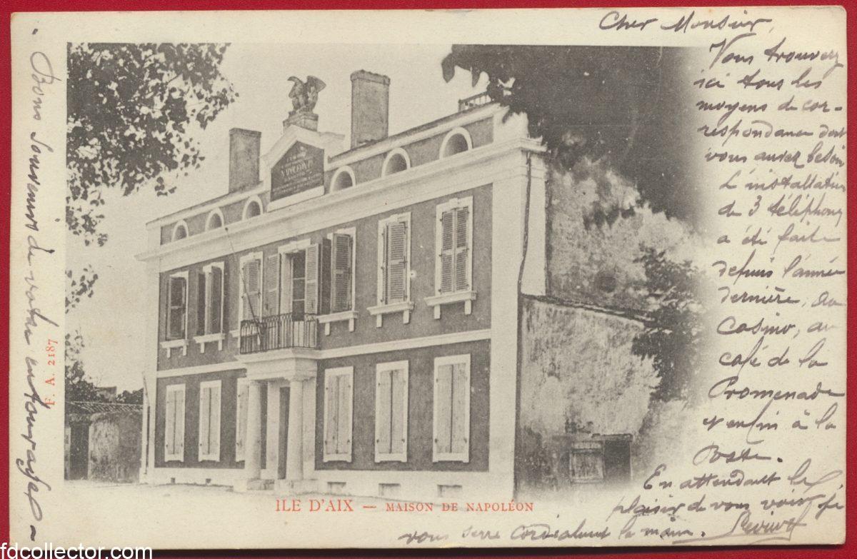 cpa-ile-d-aix-maison-napoleon