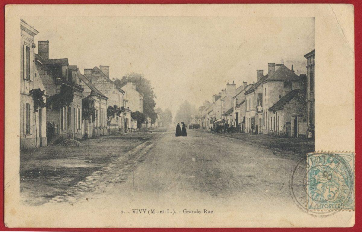 cpa-vivy-grande-rue