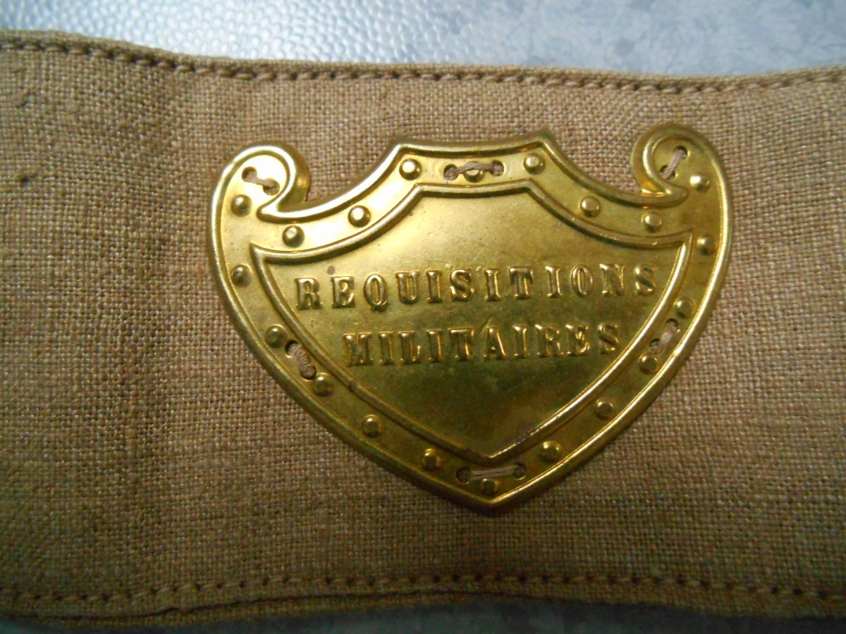 brassard requisition militaire