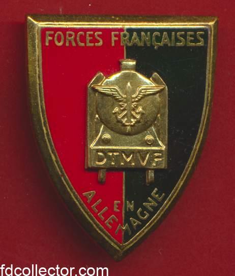 forces françaises en allemagne detachement FFA direction de transport militaire par voie férrée