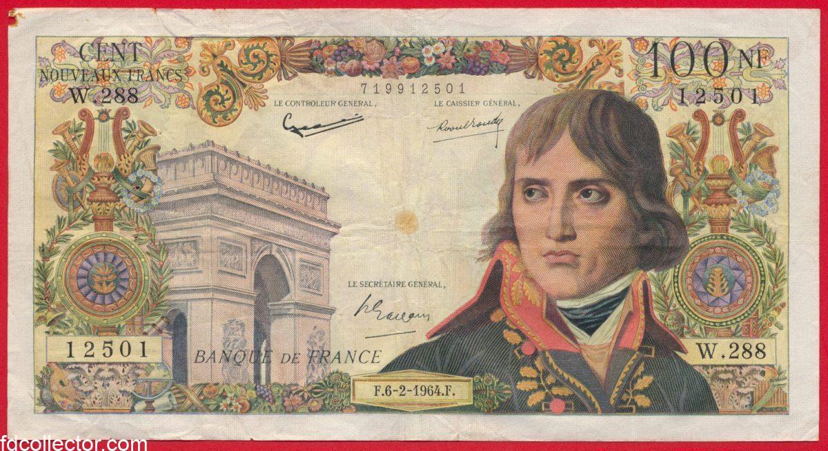 100-nouveaux-francs-bonaparte-banque-de-france-1964-12501