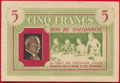 bon-solidarite-petain-5-francs