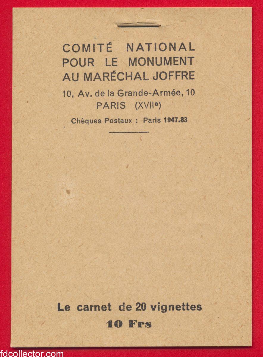 carnet-de-vignette-comite-national-pour-le-monument-au-marechal-joffre