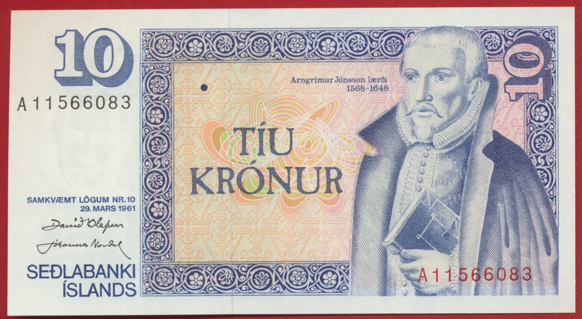 islande-10-kronur-1961-6083-sedlabanki-islands