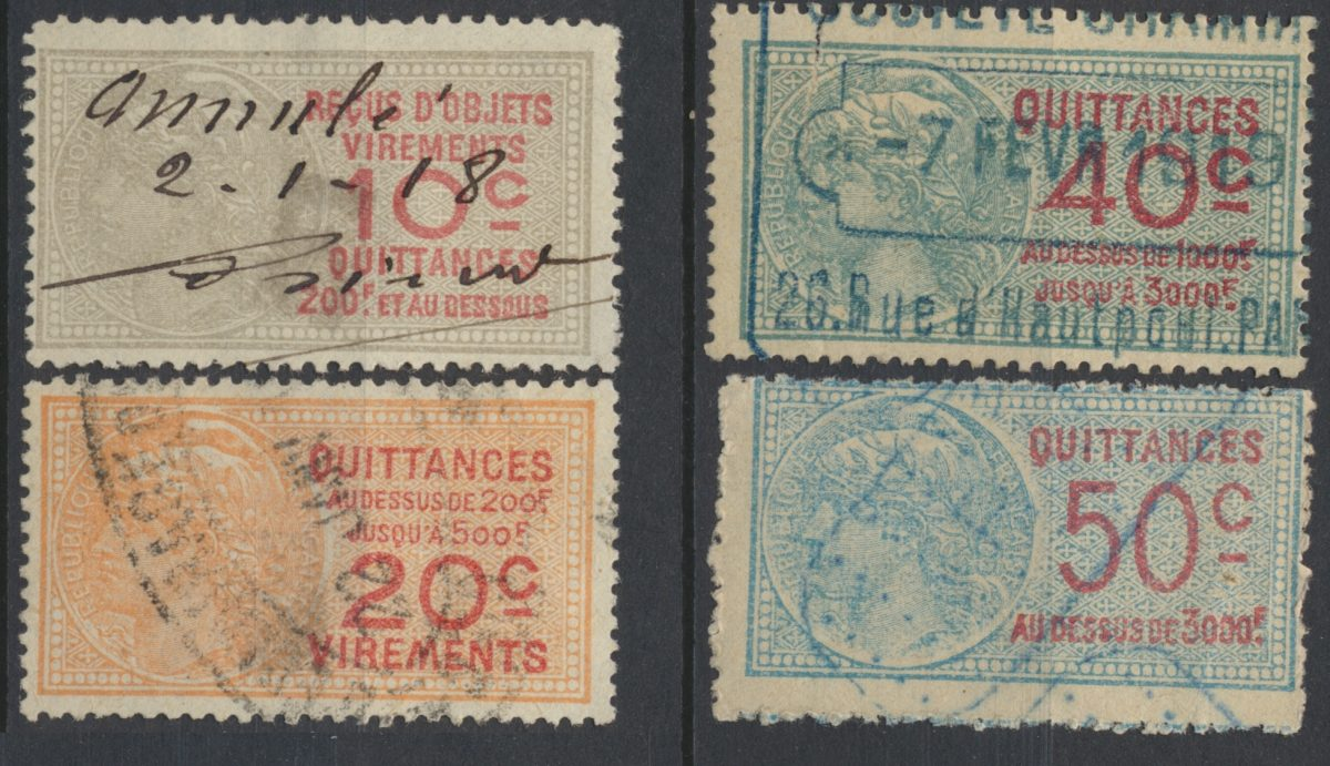 lot-quittances-divers-medaillon-tasset-1915