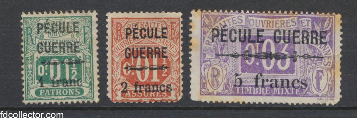 lot-timbres-fiscaux-pecule-guerre