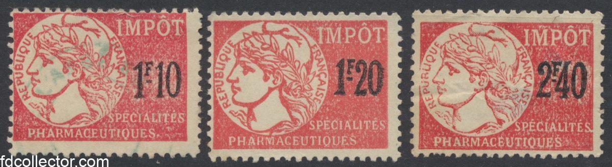 lot-timbres-fiscaux-specialites-pharmaceutiques-3-valeurs