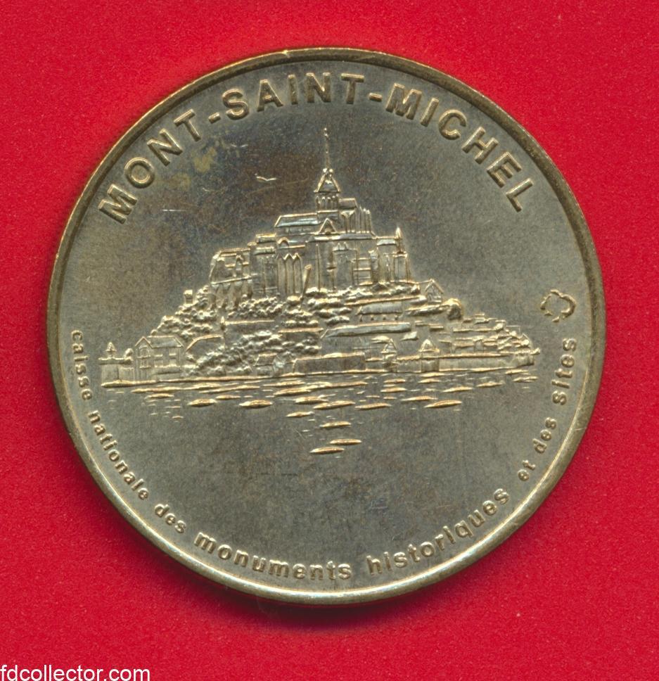 medaille-monnaie-de-paris-2000-mont-saint-michel