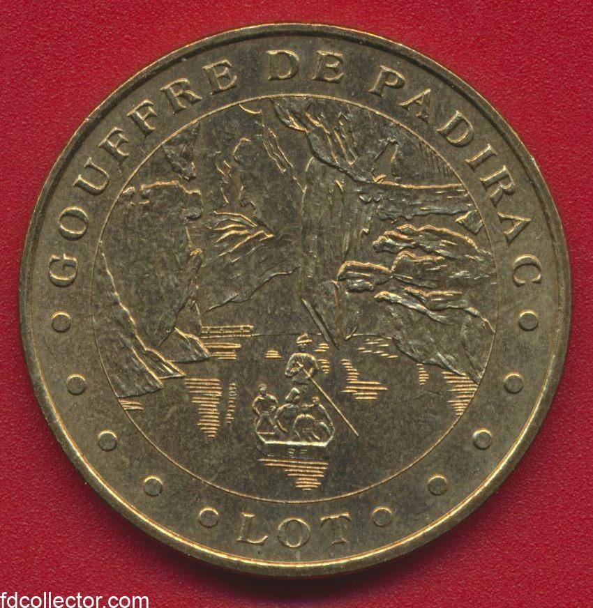 medaille-monnaie-de-paris-2003-gourffre-de-padirac-lot
