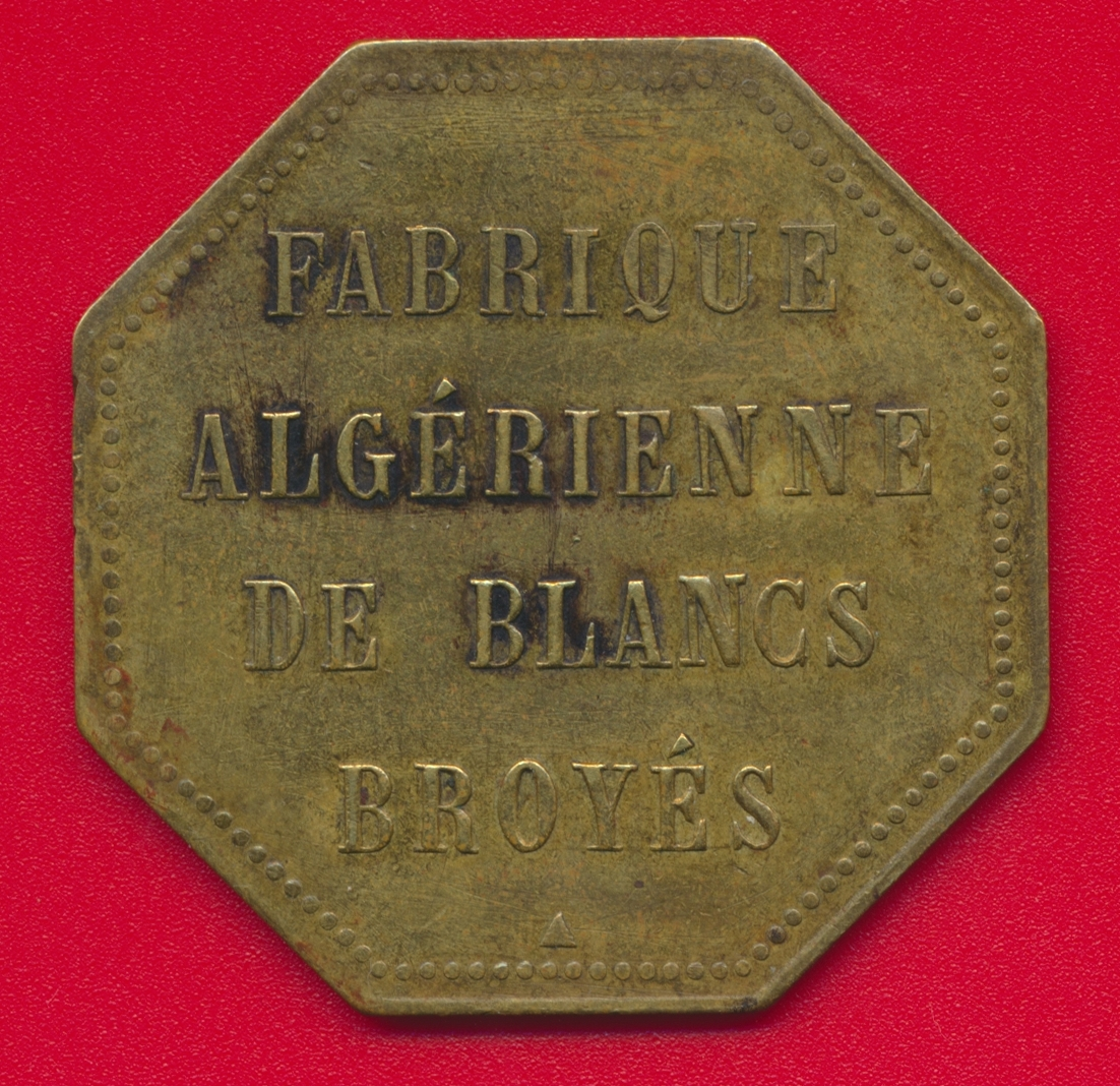 necessite-alger-2-francs-etablissements-veuve-cote-compagnie-fabrique-algerienne-blanc-broyes-vs