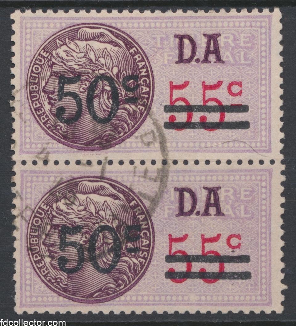 timbre-fiscal-50-c-da-sur-55-centimes