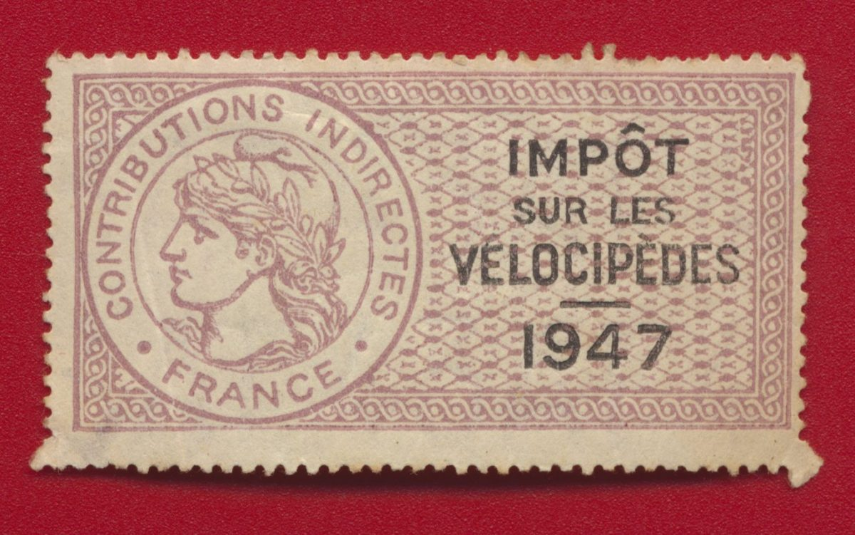 timbre-fiscal-taxe-velicopedes-1947-avers