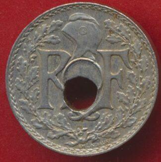 5-centimes-1935-lindauer-fautee-trou-decentre