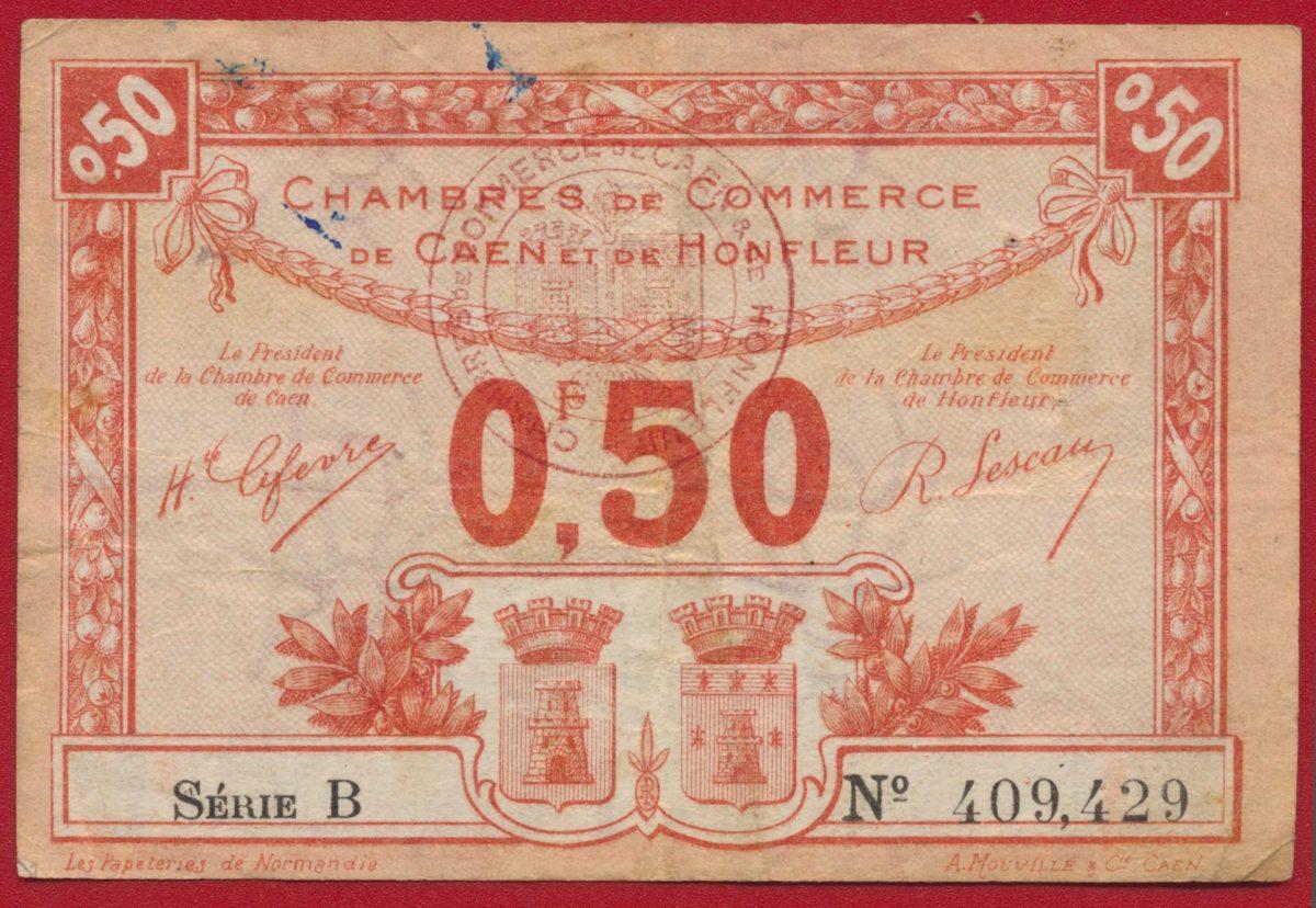 billet-necessite-50-centimes-caen-honfleur-409429