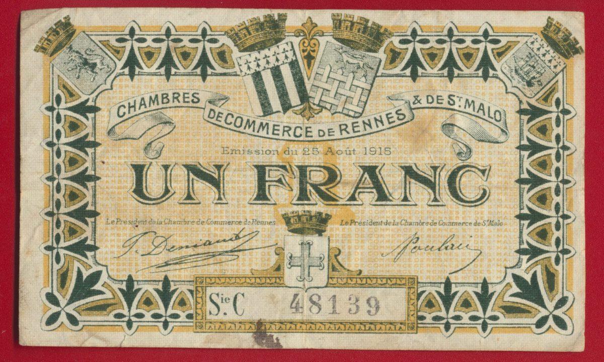 billet-necessite-un-franc-rennes-1915-48139
