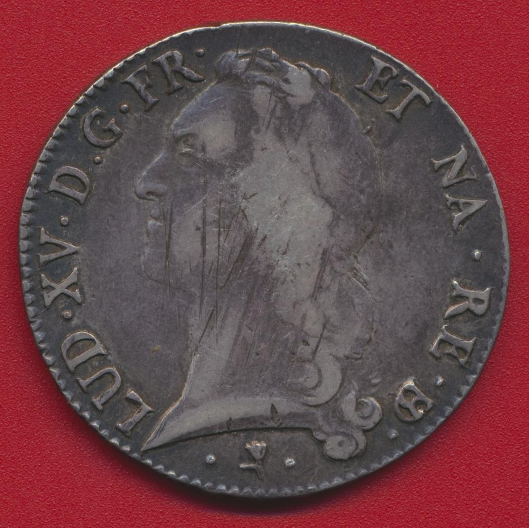 ecu-6-livres-au-bandeau-du-bearn-louis-xv-1769-pau