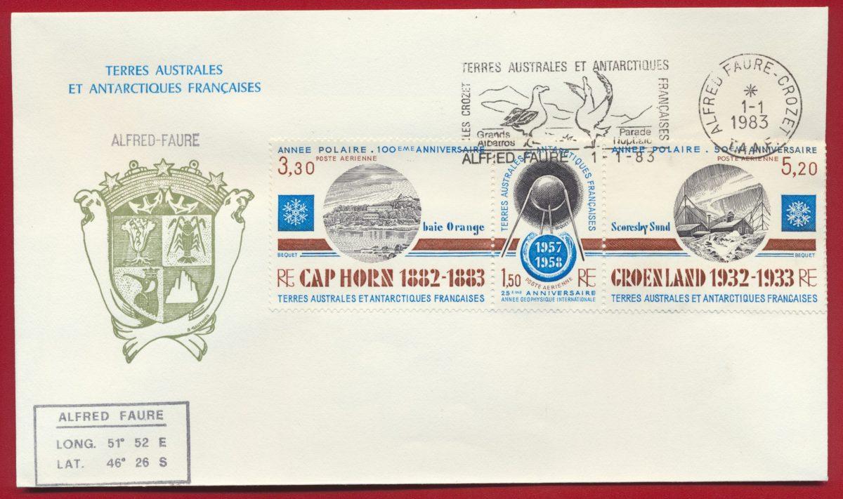 lettre-taaf-terres-australes-antarctiques-poste-aerienne-1983-kerguelen-alfred-faure