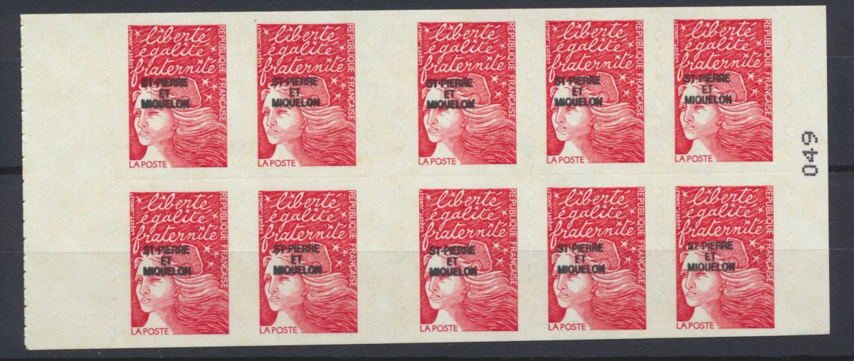 lot-timbres-st-pierre-et-miquelon-carnet-autocollant-marianne-14-juillet