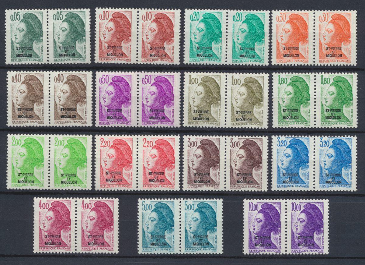 lot-timbres-st-pierre-et-miquelon-liberte-de-gandon