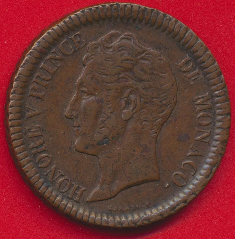 monaco-decime-honore-v-1838
