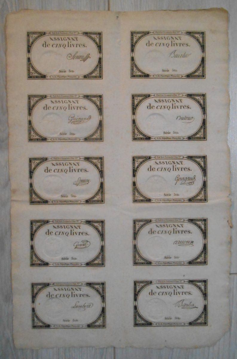 planche-assignat-cinq-livres-serie-506-papier-monnaie-revolution