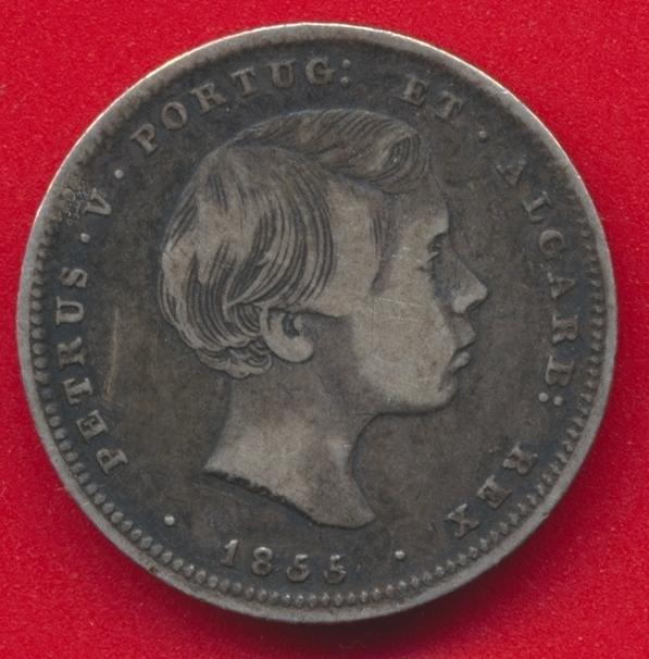 portugal-petrus-v-200-reis-argent-1855